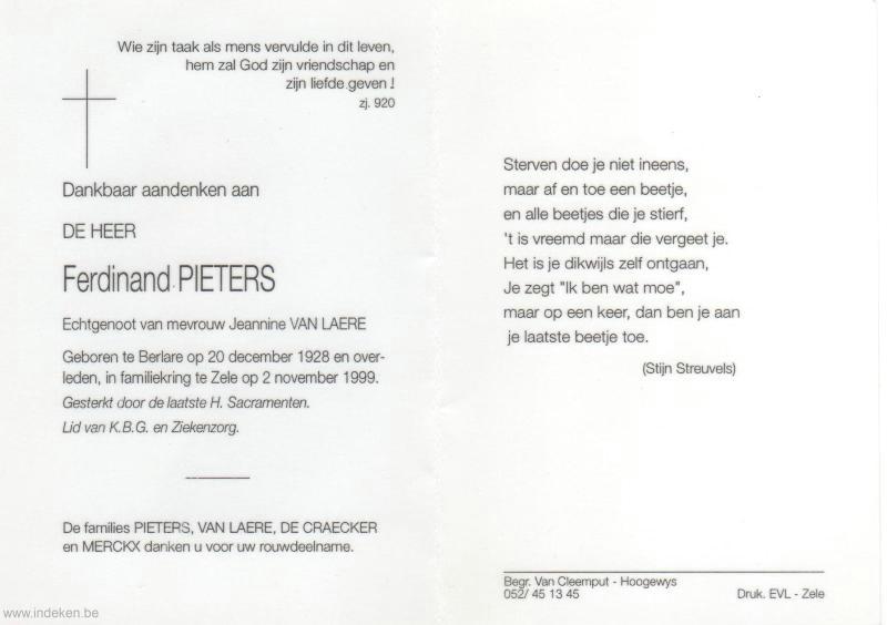 Ferdinand Pieters