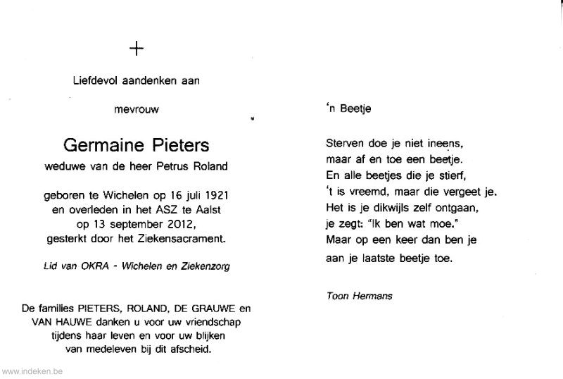 Germaine Pieters