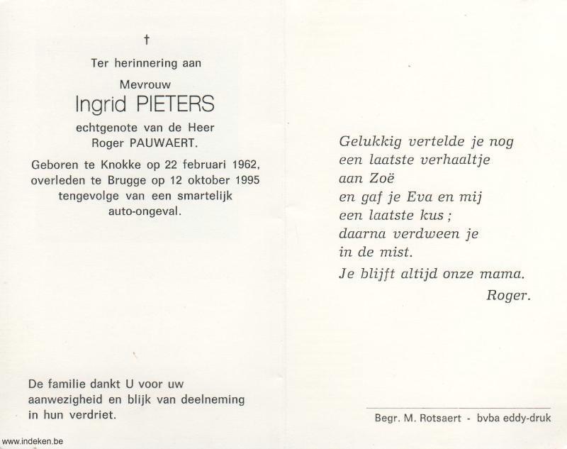 Ingrid Pieters