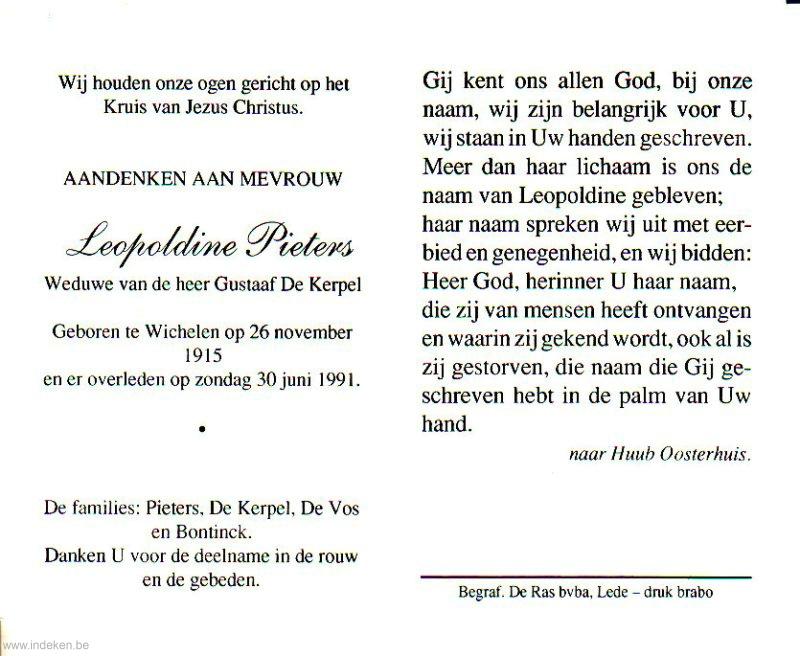 Leopoldine Pieters