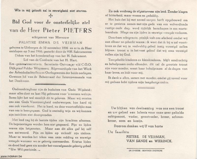 Pieter Pieters