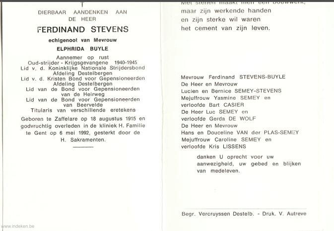 Ferdinand Stevens