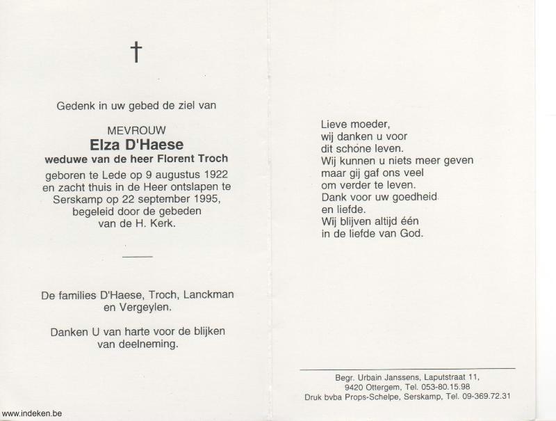 Elza D Haese