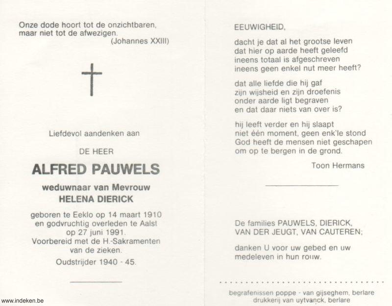 Alfred Pauwels