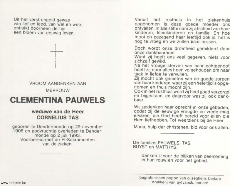 Clementina Pauwels