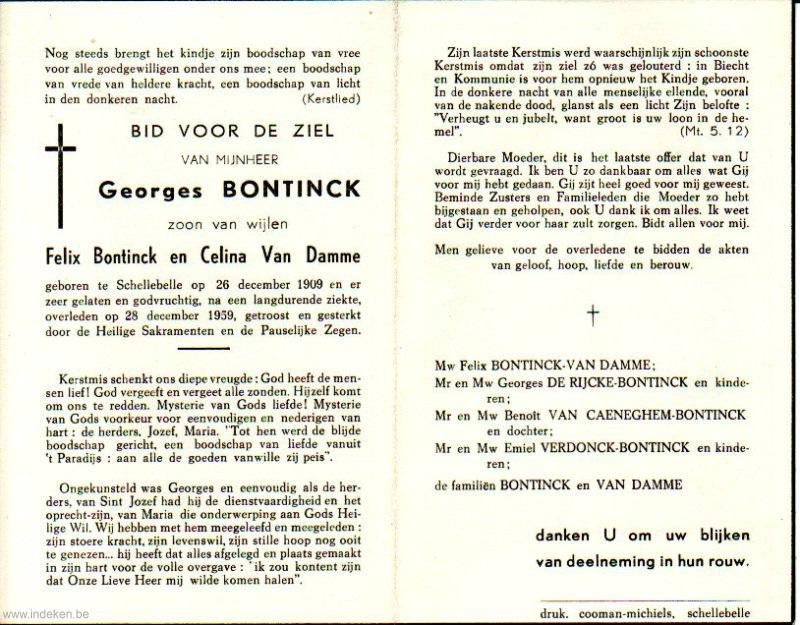 Georges Bontinck
