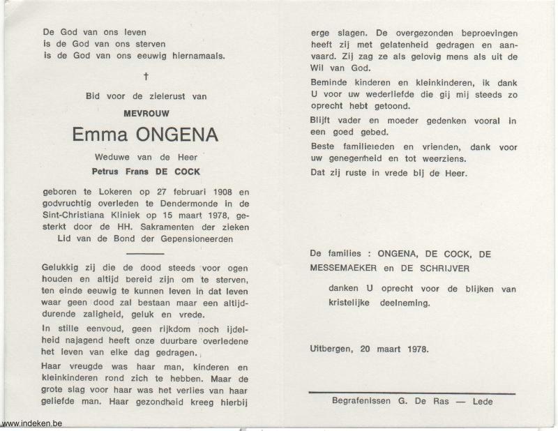 Emma Ongena