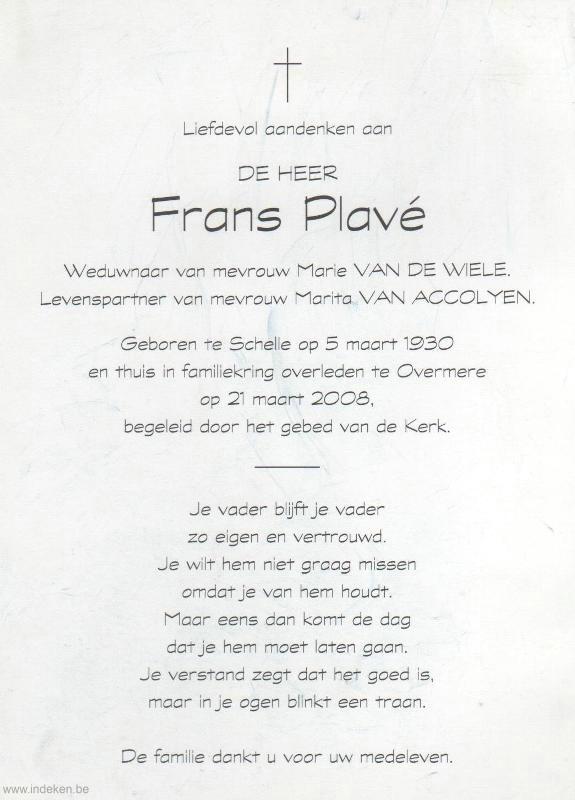 Frans Plavé