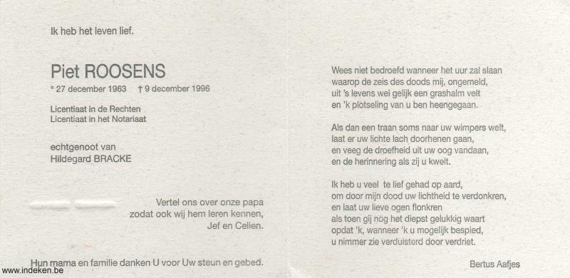 Piet Roosens