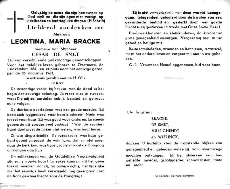 Leontina Maria Bracke
