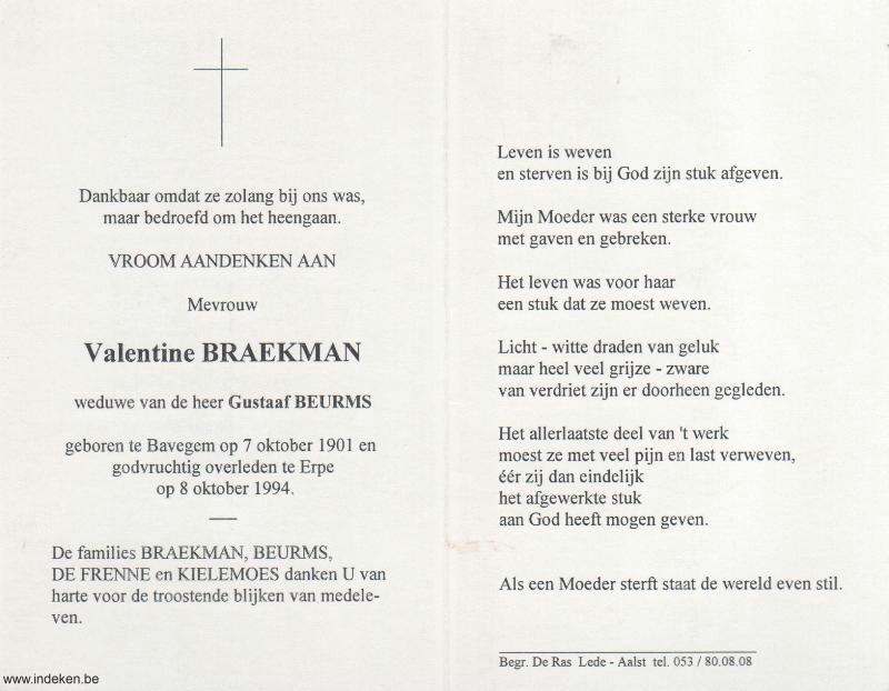 Valentine Braekman