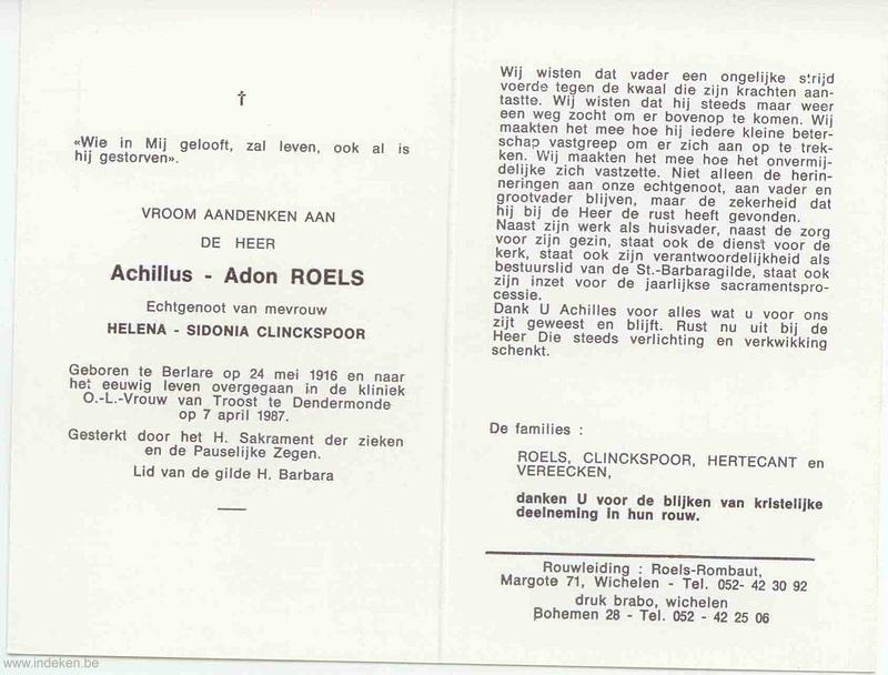 Achillus Adon Roels