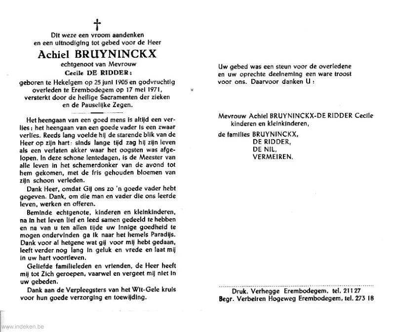 Achiel Bruyninckx