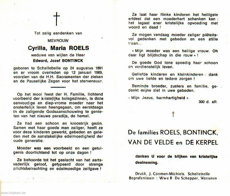Cyrilla Maria Roels