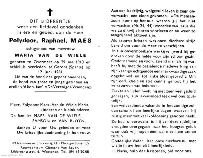 Polydoor Raphael Maes