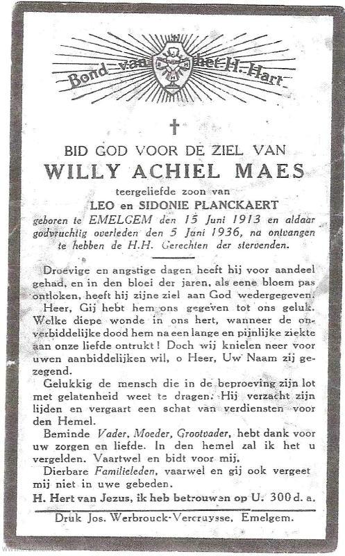 Willy Achiel Maes