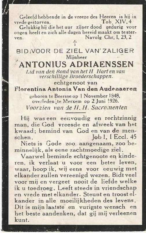 Antonius Adriaenssen