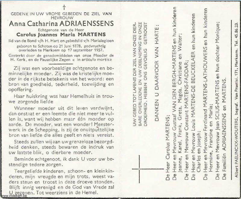 Anna Catharina Adriaenssens