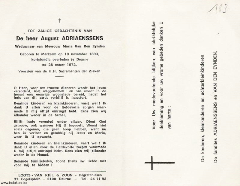 August Adriaenssens