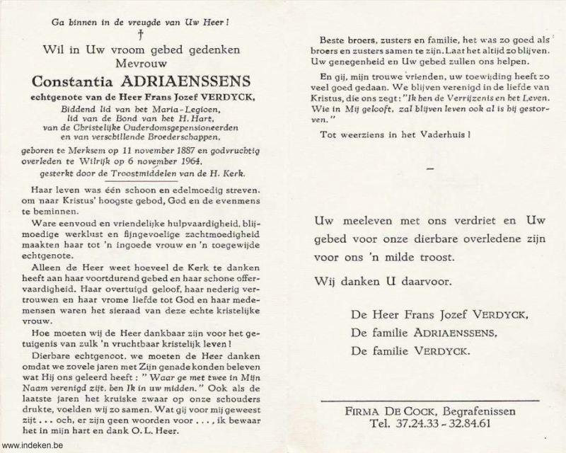 Constantia Adriaenssens