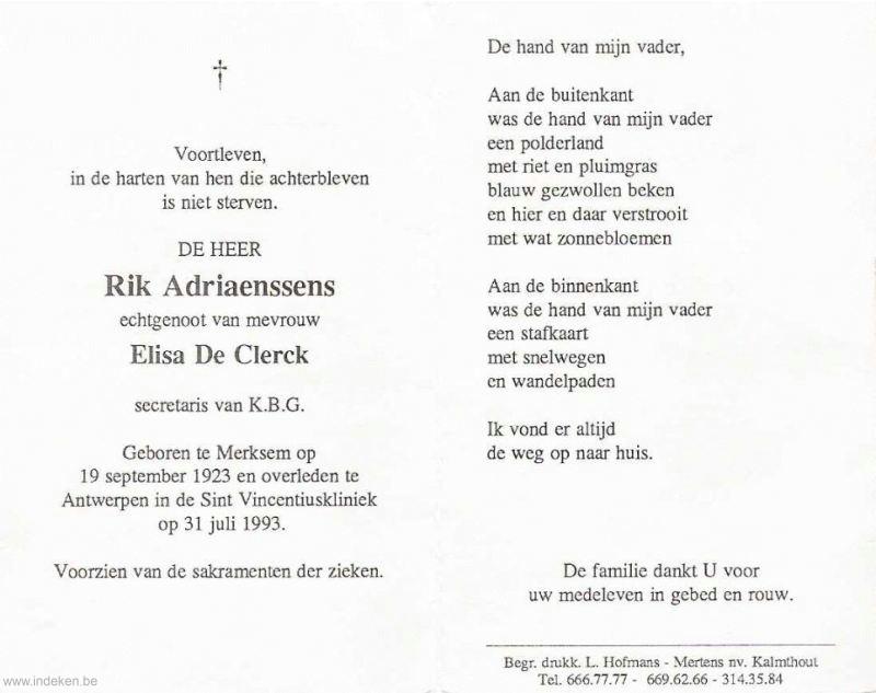 Rik Adriaenssens
