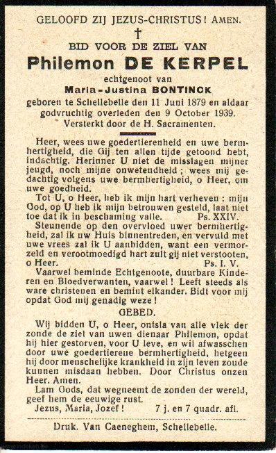 Philemon De Kerpel