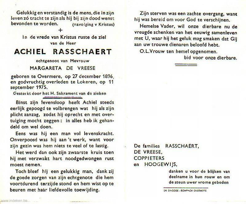Achiel Rasschaert