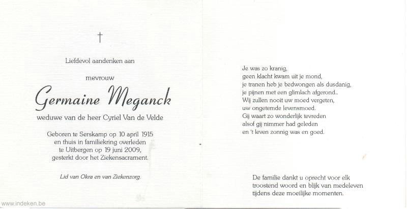 Germaine Meganck