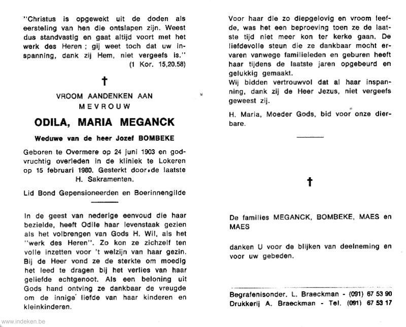Odila Maria Meganck