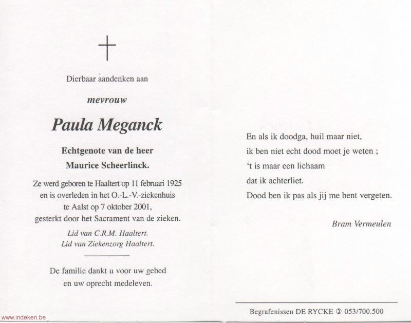 Paula Meganck