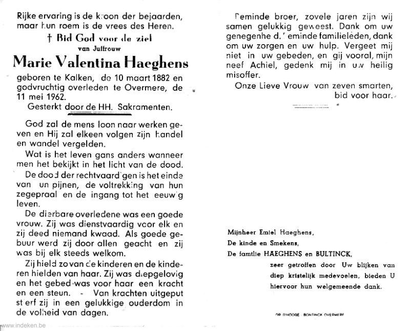 Maria Valentina Haeghens