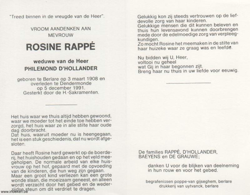 Rosine Rappé
