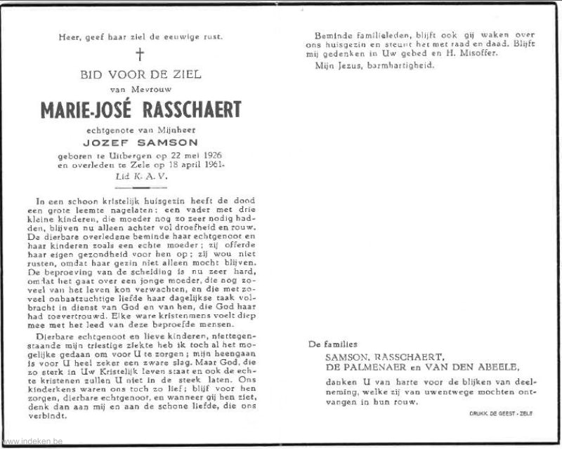 Marie José Rasschaert