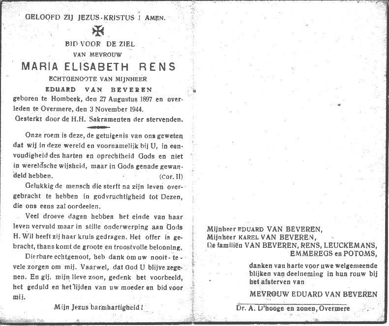 Maria Elisabeth Rens