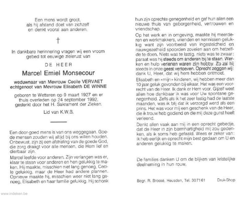 Marcel Emiel Monsecour