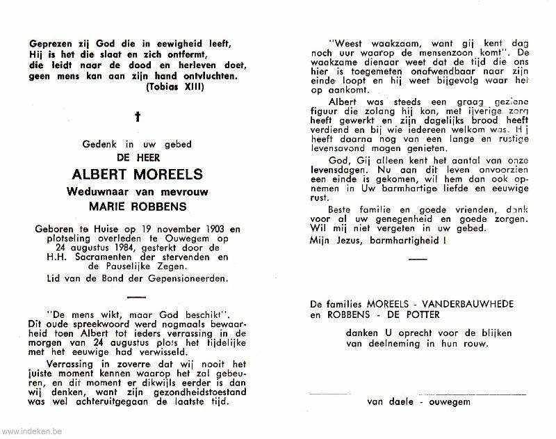 Albert Moreels
