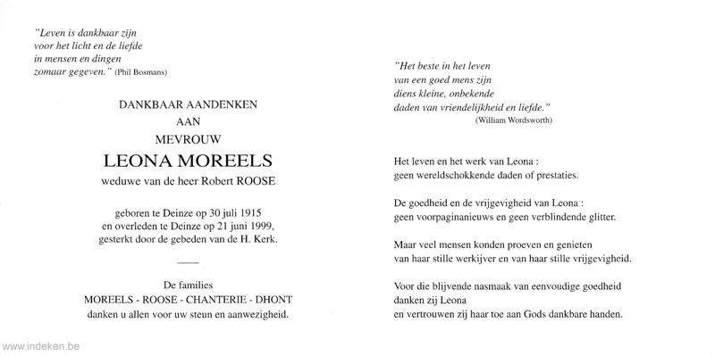Leona Moreels