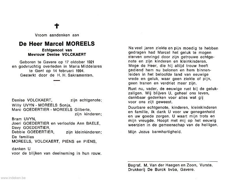 Marcel Moreels