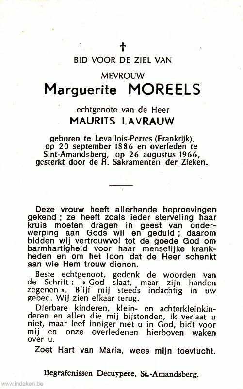 Marguerite Moreels