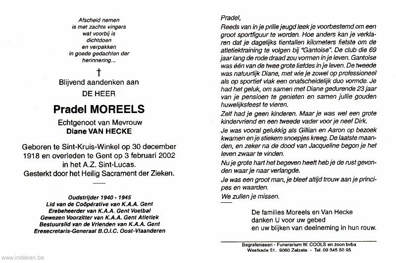 Pradel Moreels