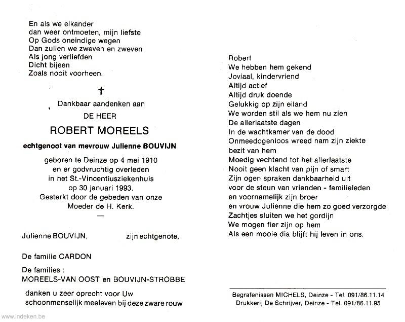 Robert Moreels