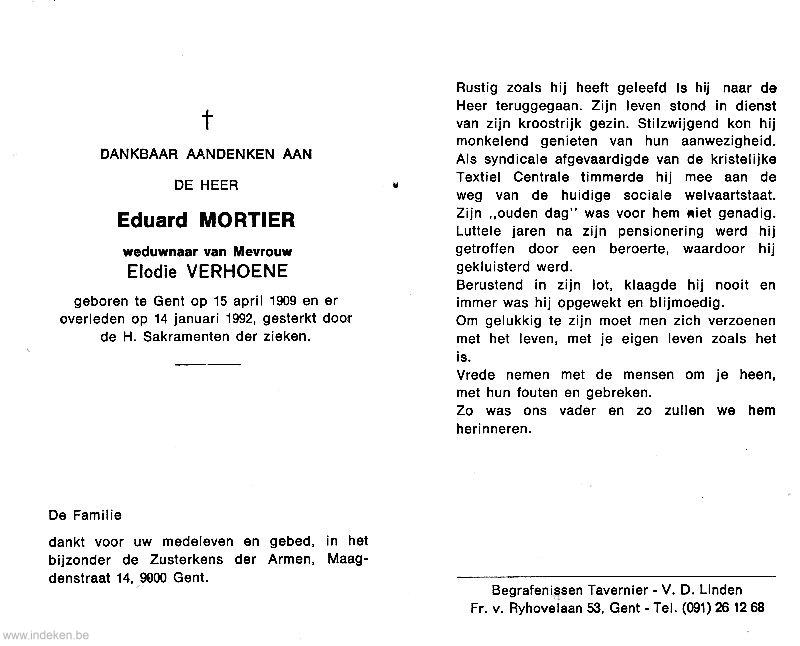 Eduard Mortier