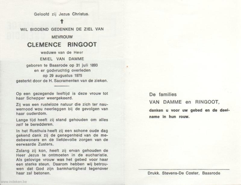 Clemence Ringoot