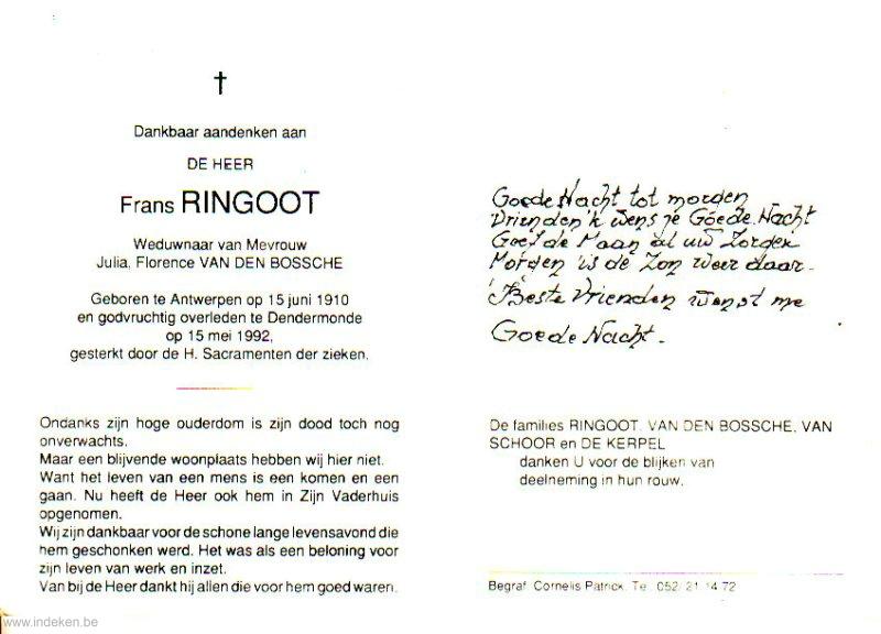 Frans Ringoot