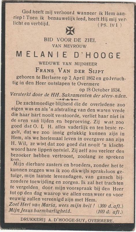 Melanie D Hooge