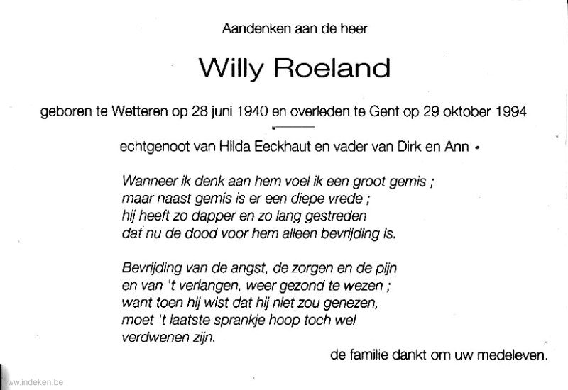 Willy Roeland
