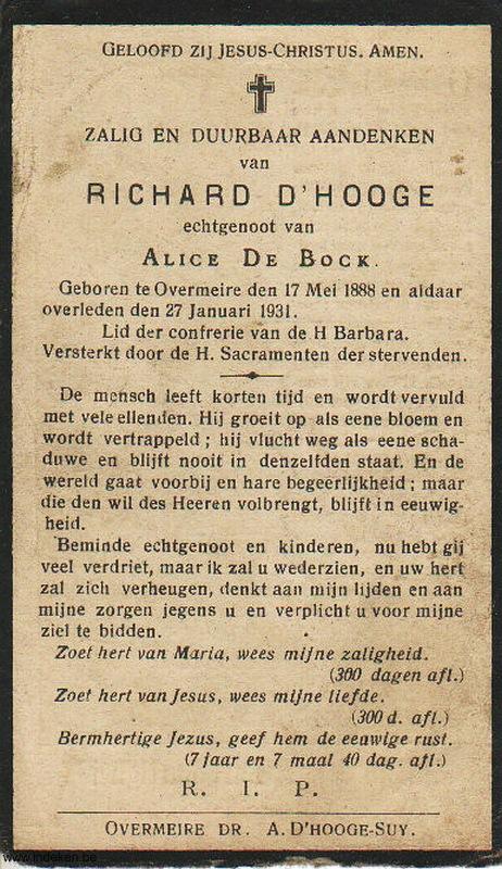 Richard D Hooge