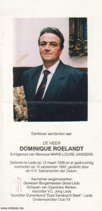 Dominique Roelandt