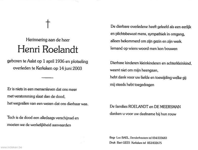 Henri Roelandt