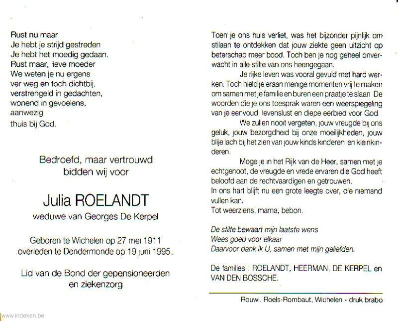 Julia Roelandt